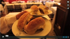A short video - in Spanish - that gives you a lovely introduction to a traditional Chilean restaurant