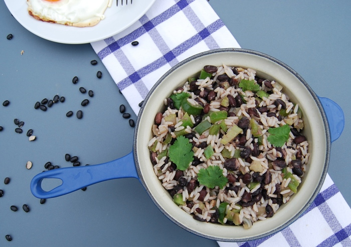 Gallo Pinto - the Costa Rican version of a fry up