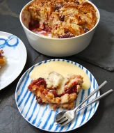 Kirschenmichel or German Bread and Butter Pudding