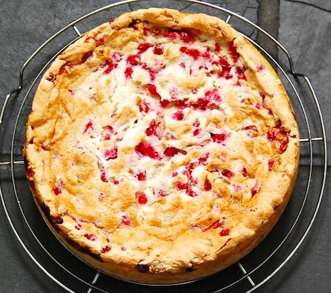 Red Currant Cake Träubleskuchen