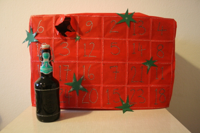 Advent beer calendar