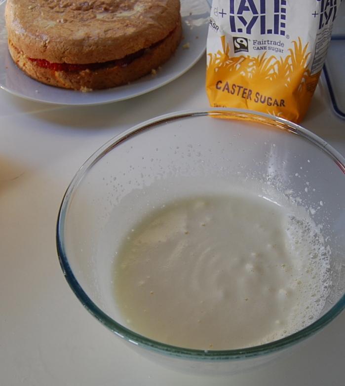 Pastel Tres Leches Italian meringue