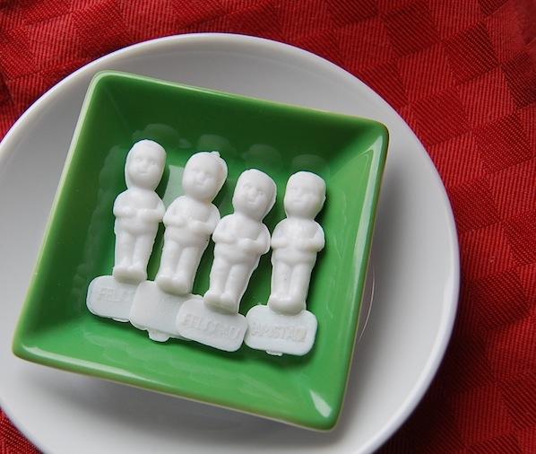 Rosca de Reyes baby Jesus