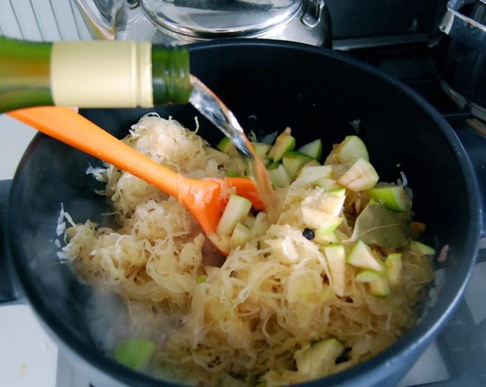 Sauerkraut wine