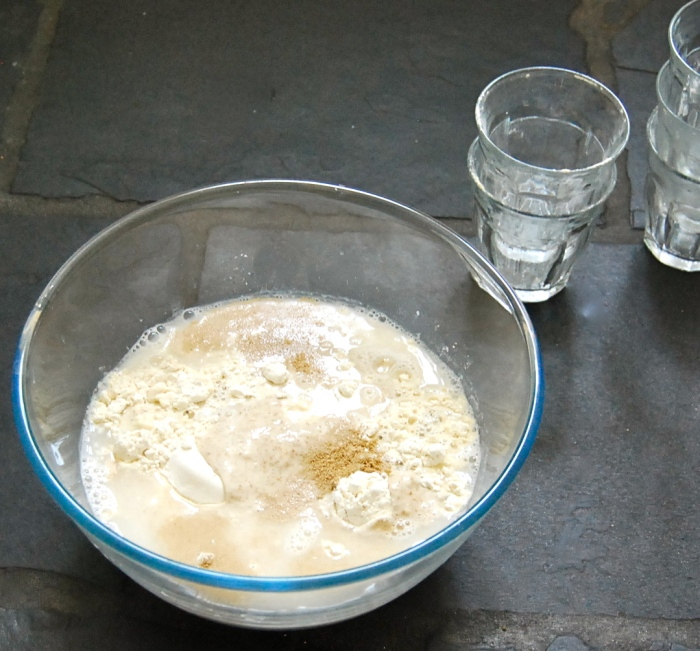 sourdough couronne dough