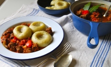 goulash and potato dumplings 2