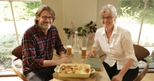 Nigel Slater and Steffi