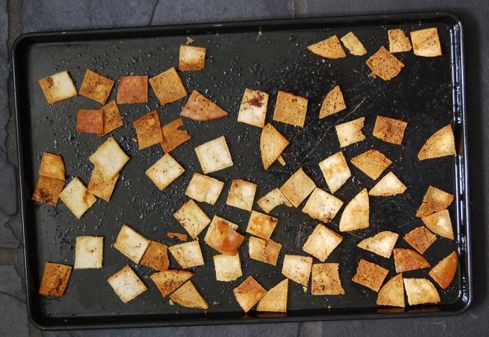 Fattoush bread
