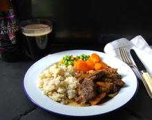 Spätzle and Stew