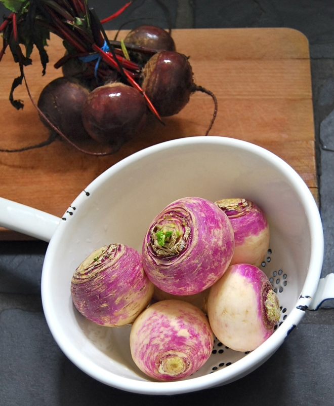 turnips and beets