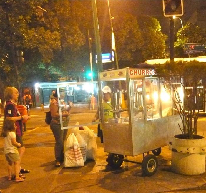 Churros in Rio de Janeiro