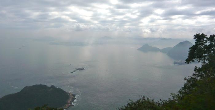 Rio de Janeiro bay from Sugarloaf