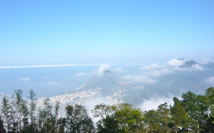 Rio de Janeiro view from Corcovado