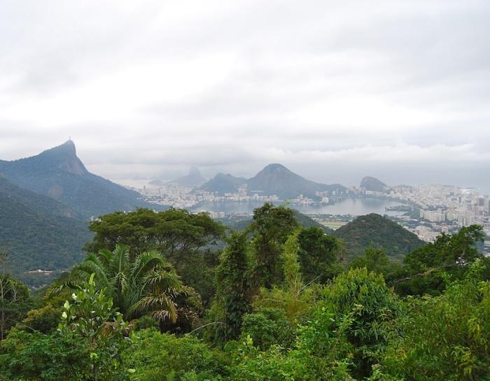 Rio de Janeiro View Pedra Bonita